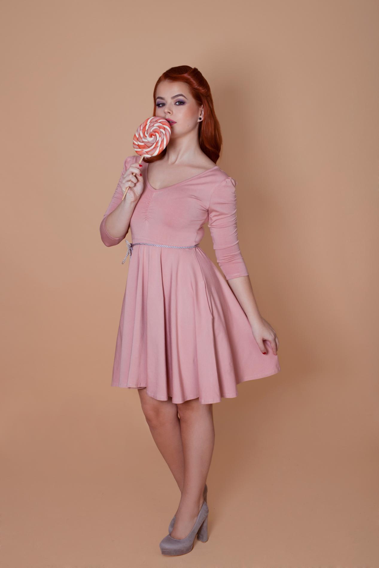 a19dac2c7e Staroružové šaty 3 4 rukáv Barbie