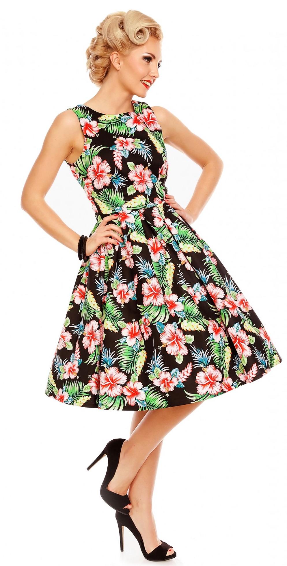 5ed613afedf4 Retro šaty Orchid