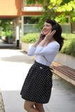 Zavinovacia sukňa Retro Black/White