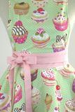 Luxusná kuchynská zástera Cupcake soft