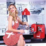 Štýlová zástera dámska Red&White Jessie Steele