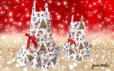 Kuchynská zástera s Vianočným motívom