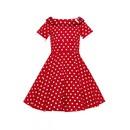 Dievčenské retro šaty