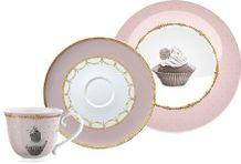 Cupcake darčekový čajový set