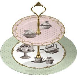 Cupcake etažér Čaj o piatej