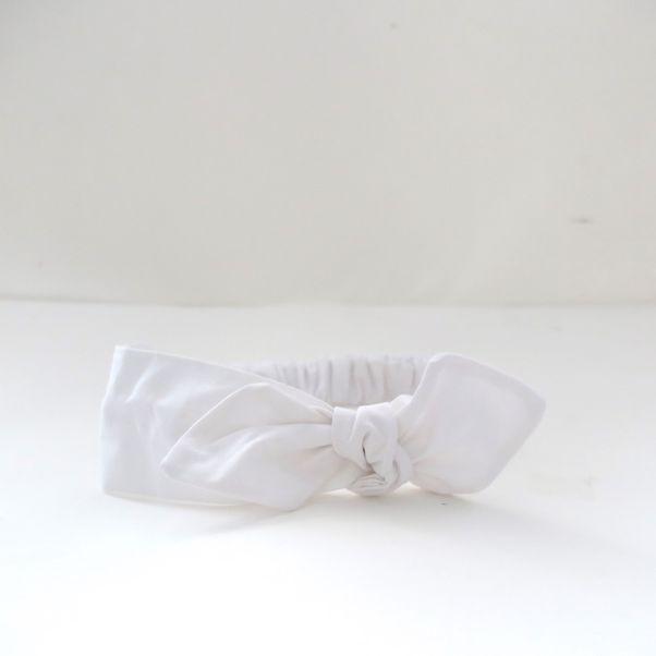 Detská čelenka biela