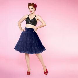 Modrá retro spodnička