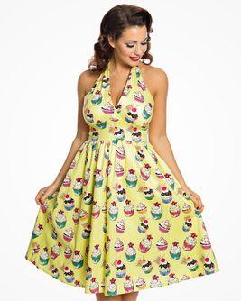 Retro šaty Cupcake