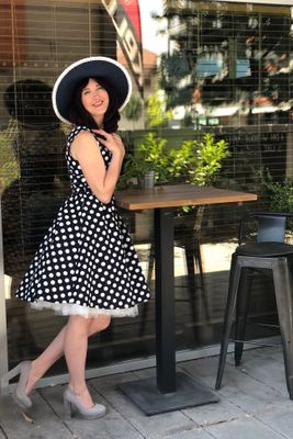 6a9a7ea3908b Retro šaty Dolly Dotty - Chic lovely retro móda