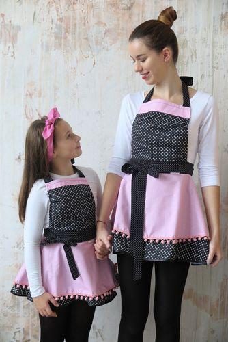 Šatová kuchynská súprava Petty pink
