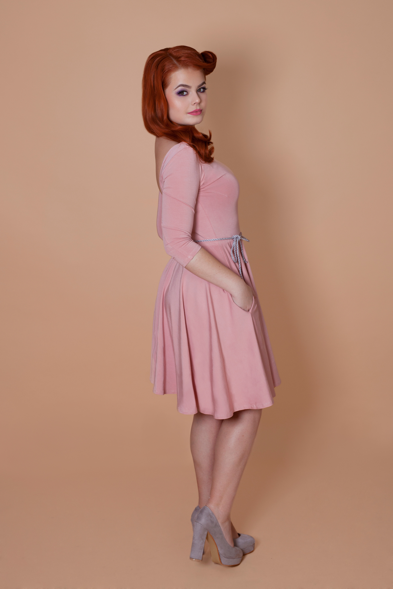 47ff7fa7e8c8 Bambusové šaty - Chic lovely - Retro boutique